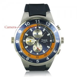 4GB Storage Spy Watch Video Recorder with MP3 Player and Hidden Camera